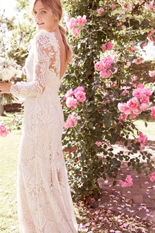 Embellished Bridal Dress