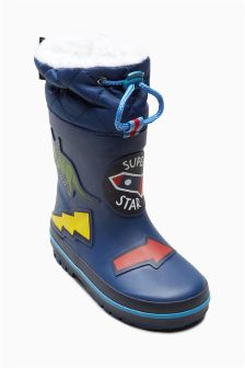 Cuff Wellies (Younger Boys)