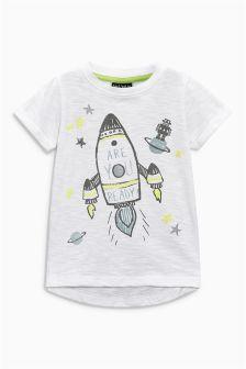 Short Sleeve Rocket T-Shirt (3mths-6yrs)