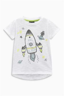 Short Sleeve Rocket T-Shirt (3mths-6yrs)