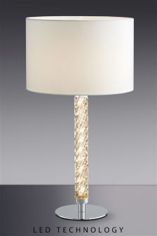 LED Twist Column Table Lamp