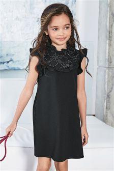 Lace Frill Dress (3-16yrs)