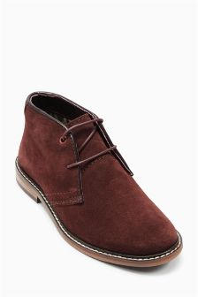 Suede Desert Boots (Older Boys)