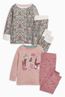 Character Appliqué Snuggle Pyjamas Two Pack (9mths-8yrs)