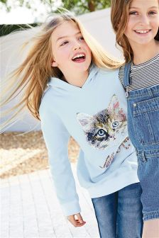 Cat Hoody (3-16yrs)