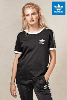 adidas Originals Black Sandra 1977 Tee