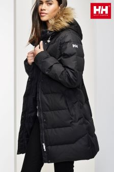 Helly Hansen Black Aden Down Parka