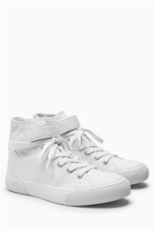 High Top Baseball Trainers