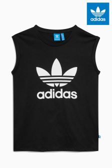 adidas Originals Boyfriend Trefoil Roll Up Tee