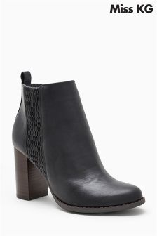 Miss KG Black Scorpio Ankle Boot