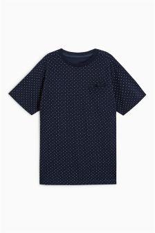Printed Dot T-Shirt (3-16yrs)