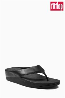 FitFlop™ Black Mirror Flip Flop