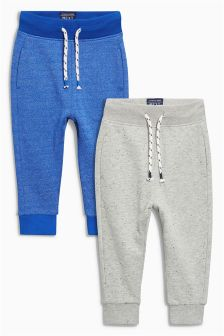 Textured Joggers Two Pack (3mths-6yrs)