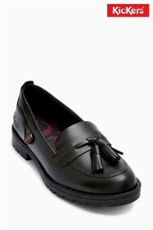 Kickers® Black Lachly Loafer