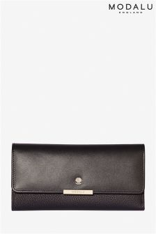 Modalu Margot Black Croc Purse