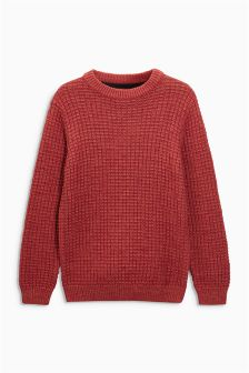 Fisherman Crew Neck Jumper (3-12yrs)