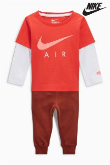 Nike Baby Max Orange/Red Two Piece Set