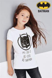 Batman® Dad T-Shirt (3-16yrs)