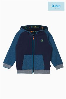 Baker by Ted Baker Blue Applique Sweat Hoody