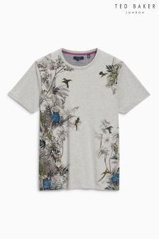 Ted Baker Grey Jelo Graphic T-Shirt
