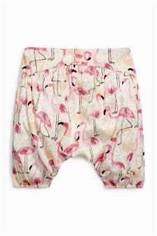 Flamingo Print Trousers (0mths-2yrs)
