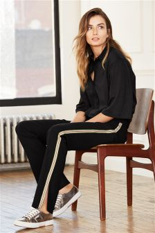 Side Stripe Track Trousers