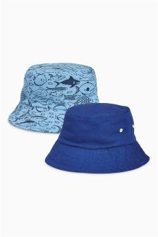 Fisherman Hats Two Pack (Younger Boys)