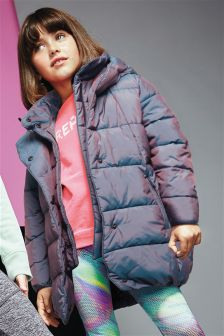 Long Padded Coat (3-16yrs)