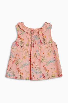Floral Ruffle Blouse (3mths-6yrs)