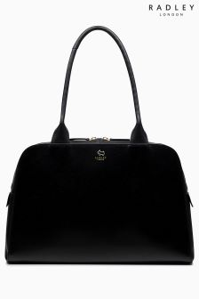 Radley Black Millbank Large Zip Top Tote Bag