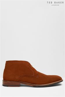 Ted Baker Tan Torsdi Four Chukka Boot