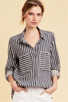 Women's Shirts & Blouses | Ladies Striped Shirts | Next UK