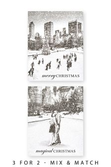 20 New York Scene Cards
