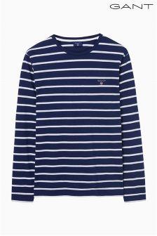 Gant Navy Breton Stripe Top