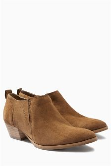 Western Low Ankle Boots