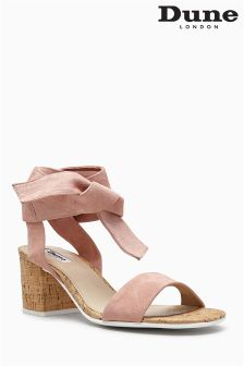 Dune Blush Jonee Wrap Sandal