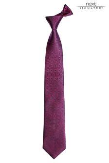 Signature Swirl Tie
