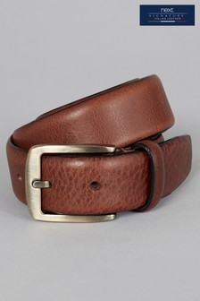 Signature Collaboration Italian Leather Formal Belt