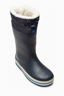 Cuff Rubber Wellies (Older Boys)
