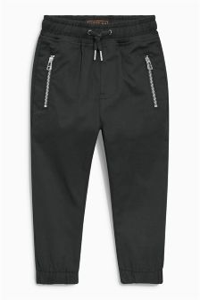 Zip Front Joggers (3-16yrs)