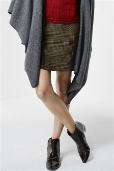 Heritage Check Mini Skirt