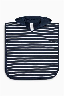 Stripe Towelling Poncho (9mths-10yrs)