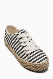 Rope Wrap Trainers (Older Girls)