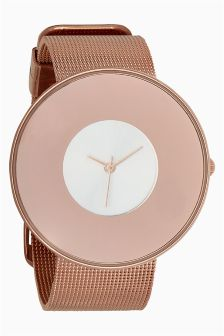 Mesh Embellished Watch