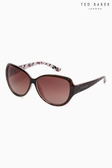 Ted Baker Tortoiseshell Shay Oversized Classic Sunglasses