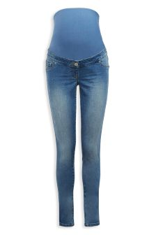 Maternity Over The Bump Denim Jeans