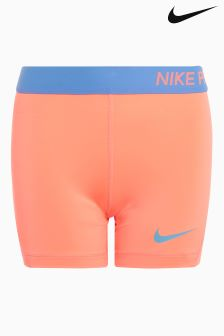 Nike Coral/Blue Pro Short