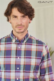 Gant Broadcloth Plaid Shirt