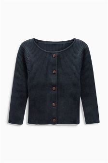 Ribbed Cardigan (3mths-6yrs)