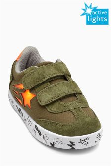 Light Up Trainers (Younger Boys)
